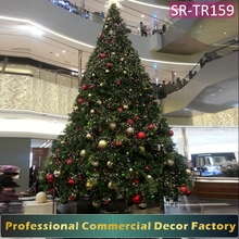 3m 4m 5m Giant Christmas tree decoration for hotel lobby
