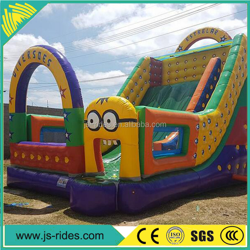 Commercial amusement rides used inflatable slide giant
