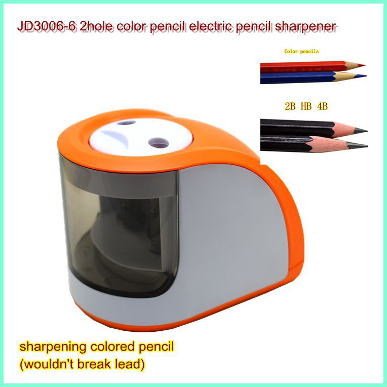 Stationery Wholesaler JD3006-6 Electric Pencil Sharpener For Teacher For Kids For Children