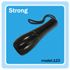 Precision black aluminum 5w underwater torch light depth 10m mini diving flashlight