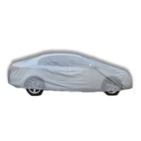 Plastic Material Retractable Car Cover