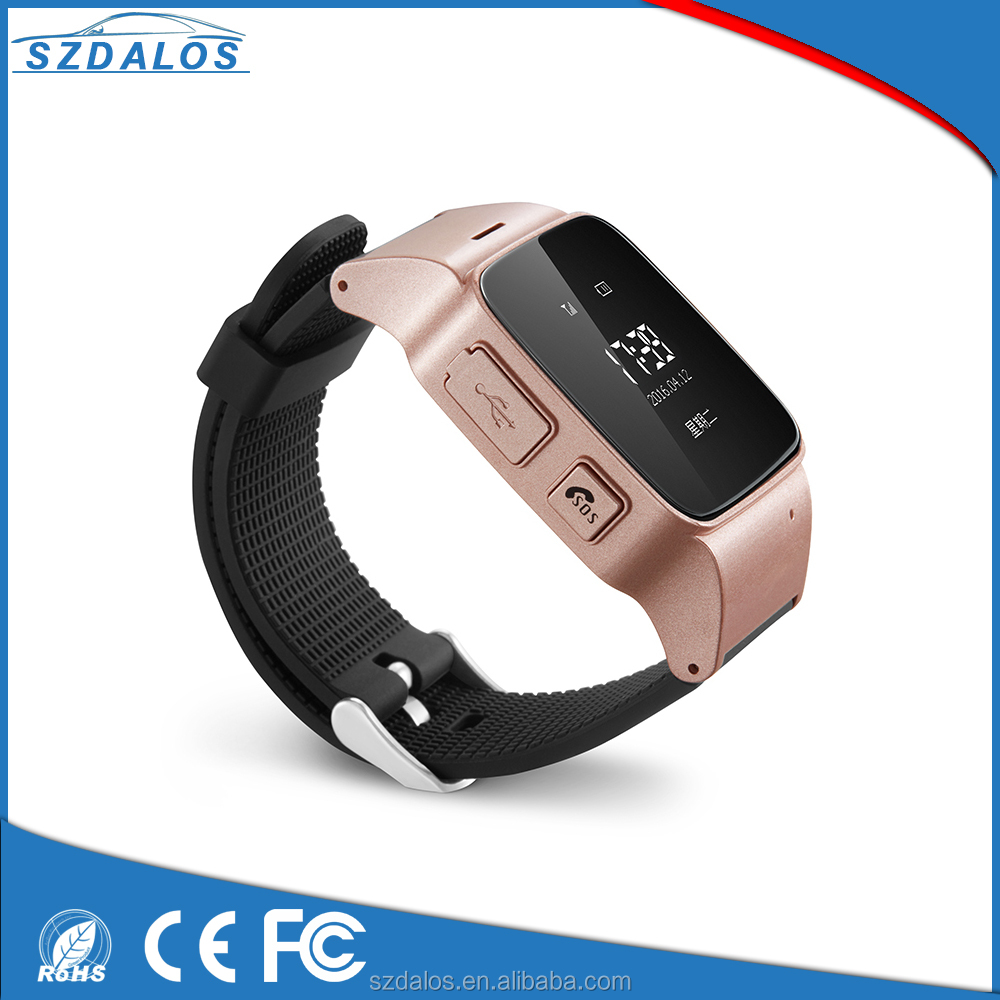 Two-way Calling SOS SIM Card GPS/LBS Smart Tracker Watch for Kids