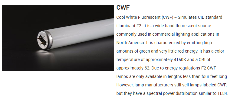 CWF hot sales good quality color match light