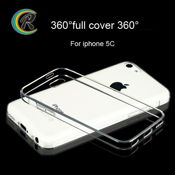 Clear soft for iPhone 5c cover for iPhone5c matt tpu case