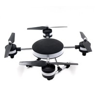F18602 HuaJun W606-3 U-FLY 4CH 5.8G with FPV 2.0MP HD Camera 3D Roll Drone LED Model Toys RC Helicopter High Hold Mode