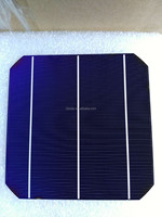 Mono solar cells cheap price 156*156 with high efficiency and good quality