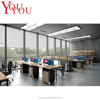 Fancy design best workstation laptop, wonderful fabric office partitions /6 person workstation