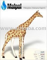 Art. No. M 037 Animal ZOO - Life-Size Giraffe