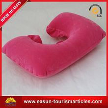 Low price promotion airplane head pillow different shapes of pillows