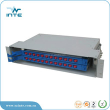 48 ports fiber optic ODF box include 4 12 cores splice tray
