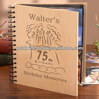 "Beautifully handcrafted wooden Photo Album to store 4"" x 6"" photos"