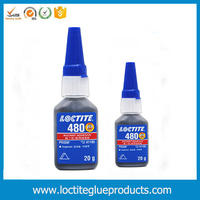 Loctite black 480 rubber toughened adhesive cyaoacrylate instant adhesive loctite 401 403 406 460 480 495 496 20g