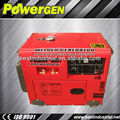 Best Seller!!! 5kw 190A air cooled single cylinder diesel welding generator machine
