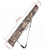 Tactical Rifle Case Camouflage Long Gun Bag