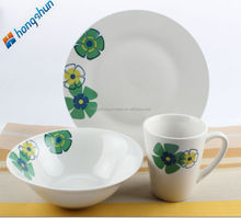liquidation dinnerware/linyi ceramic dinner set