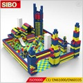SIBO Wholesale Kids DIY Giant EPP Intelligence Building Blocks Toy For Indoor Playground