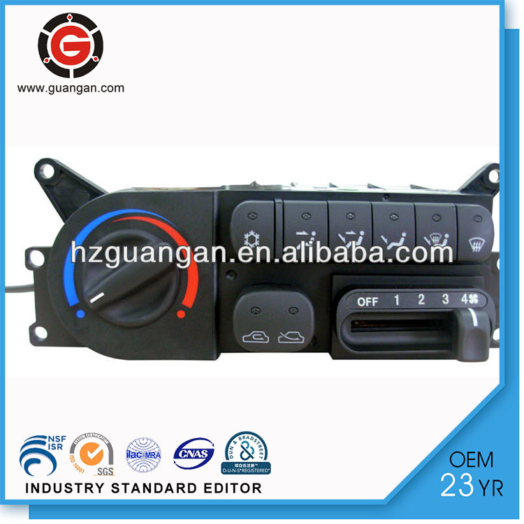 Car Air Conditioner Controller,Auto Cooling System,H1 Refine Mechanical HVAC Control Panel