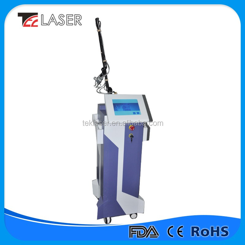 Advanced RF tube Co2 laser vagina tightener