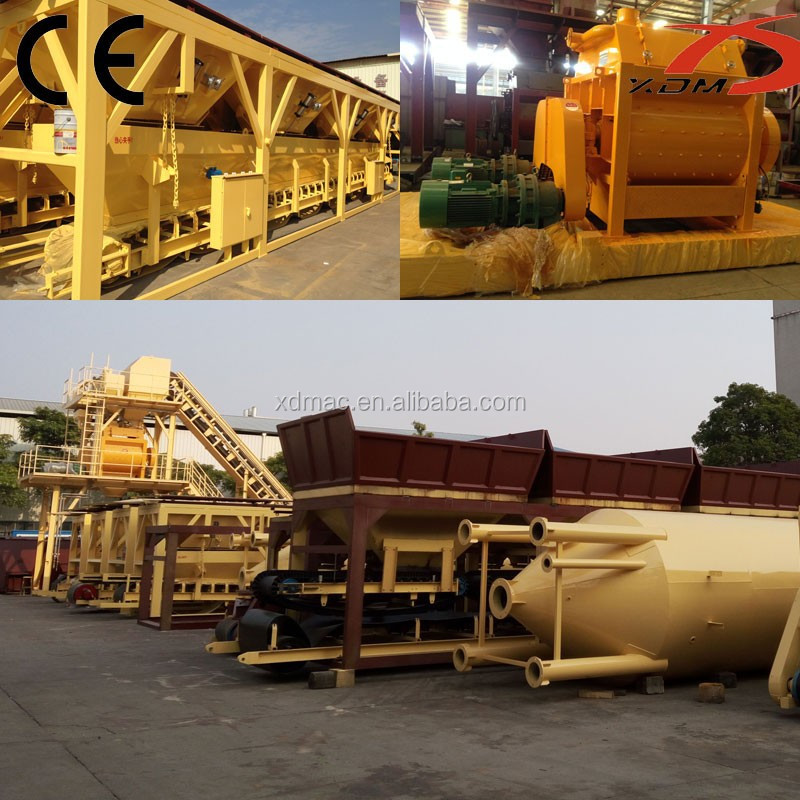 Small Precast Wet Mix Concrete Batching Plant HZS50 for sale