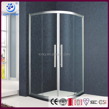 Fan-shape Sliding Glass Shower Enclosures(KT6209)