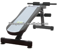 gym equipment bench reverse sit up bench