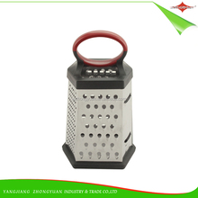 ZY-N5046 Multi-function 6 Sides Kitchen Stainless Steel Vegetable Slicer Grater