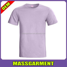 2016 OEM Custom Cotton Plain Printed Dyed T Shirt Wholesale