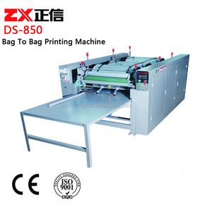 Manual Non Woven Bag to Bag Four Color Flexography Printing Machine