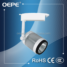Use TOYONIA chip ra 90 30w cob led track spot light cylindrical for shopping mall