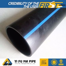 Long working life HDPE black plastic pipe food grade