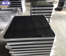 China 5 sides polished absolute shanxi black granite for monument