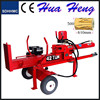 2015 professional hydraulic 42T 1050mm diesel wood processors log splitters