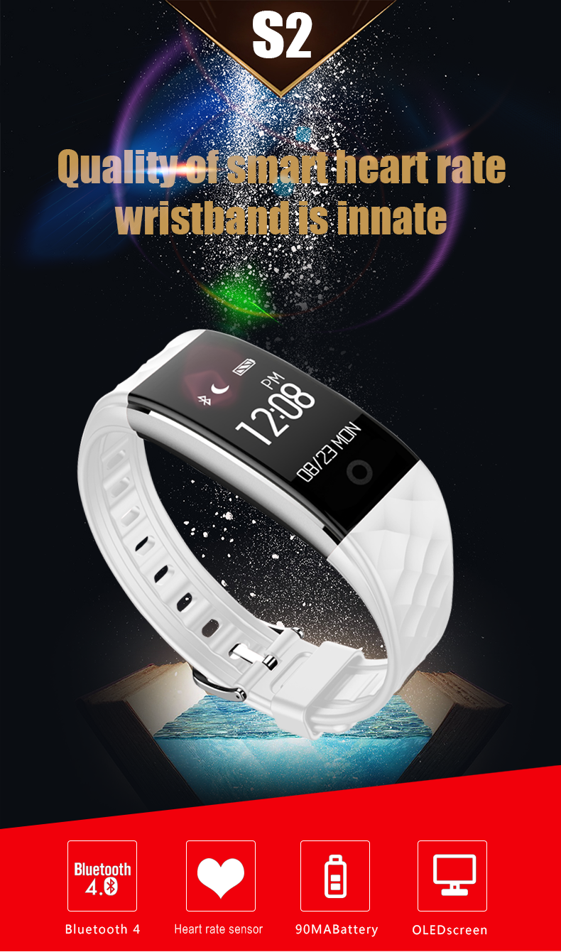 ODMOEM factory Fitness Tracker with Heart Rate Monitor,IP67 Waterproof Smart Bracelet.png
