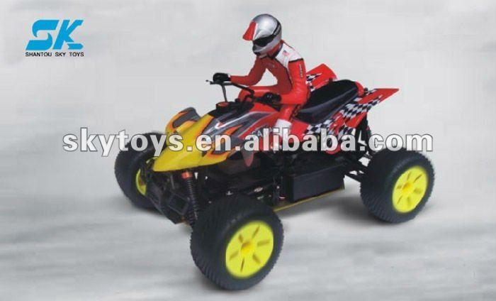 !Rc hydraulic system.radio control SALVAGER 1/10th 4X4 RTR Nitro Off-Road ATV toy model r/c car gas powered rc cars