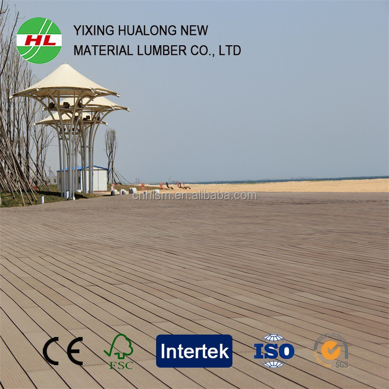Green environmental protection Direct selling outdoor wpc composite decking flooring