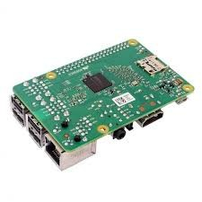 2018 raspberry pi 3 model B with 1G RAM integrated circuits wifi board