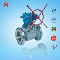 manual gear operated ball valve
