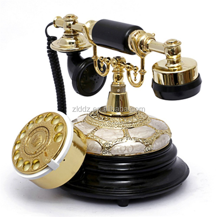 Cheap And High Quality rotary dial phone,retro dial telephone