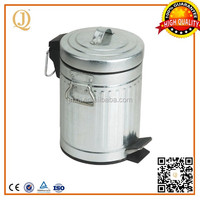 large sizes galvanized plate toy trash can