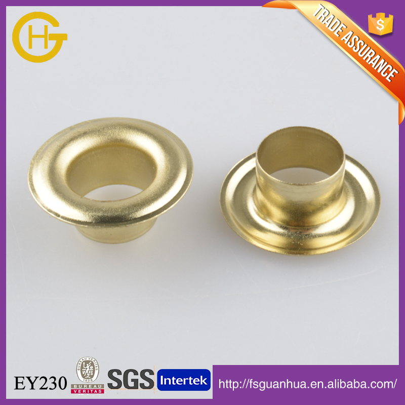 Brass grommets teeth grommets for thick material