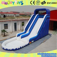 Commercial adult inflatable water slide with pool big water slides for sale