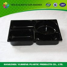 Disposable unique shape best fast food plastic custom packaging