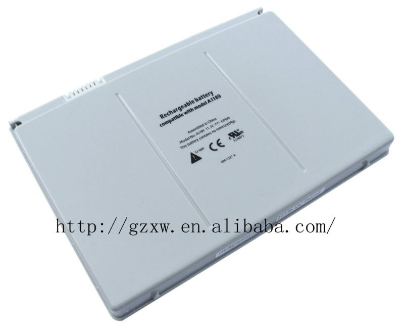 rechargeable apple laptop battery A1189