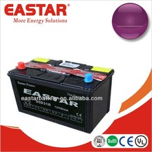 JIS & DIN standard MF car auto battery 12v 75ah 12v 75d23l car battery with competitive price