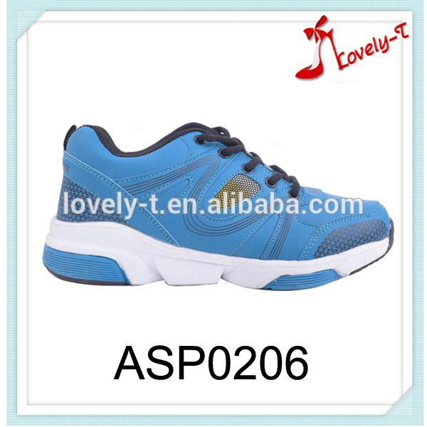 Blue sky sport shoes sneaker durable online platform sport shoes with shoelace