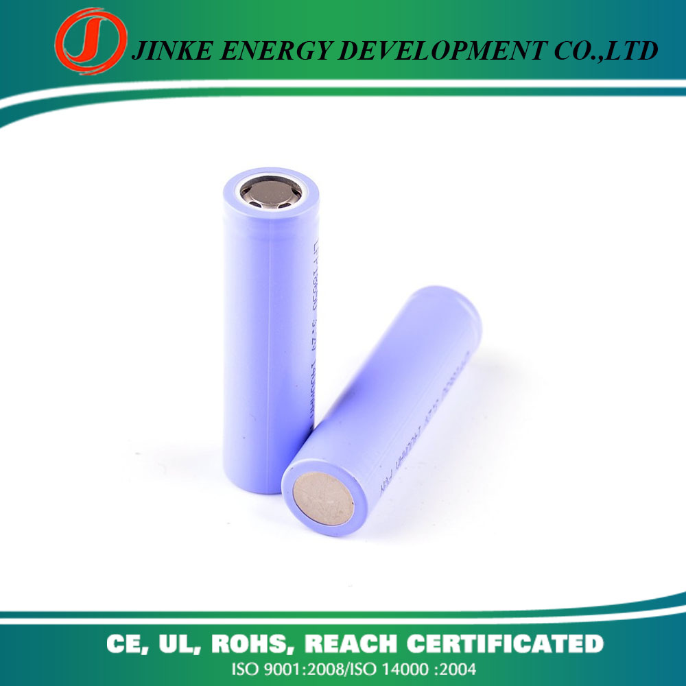 Factory directly sale Li-ion Cylindrical round battery cell 18650 lifepo4 battery for flashlight battery
