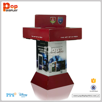 China Free Sample Printed Cardboard Mobile Phone Display Stand, Cell Phone Accessory Display Stand