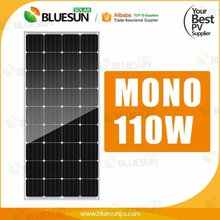 High quality good price poly 12v solar panel 110v 100w 90w