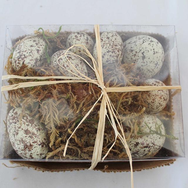 Environmental easter craft styrofoam easter egg for decoration
