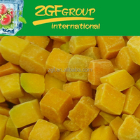 delicious IQF health chinese pumpkin price have a hot sale in bulk